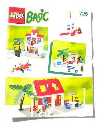 ⭐ VINTAGE LEGO CATALOGUES INSTRUCTION BOOKLETS 4 COMPLETE 70s 80s