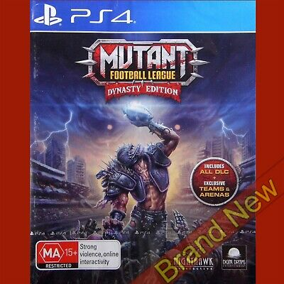 MUTANT FOOTBALL LEAGUE - Dynasty Edition - PlayStation 4 PS4 ~18+ Brand New