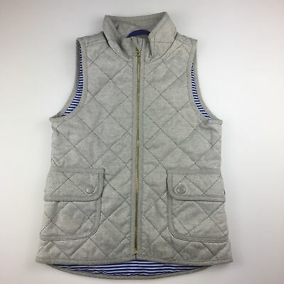 Girls,Boys size 8, Old Navy, grey lightweight vest / sleeveless jacket, EUC