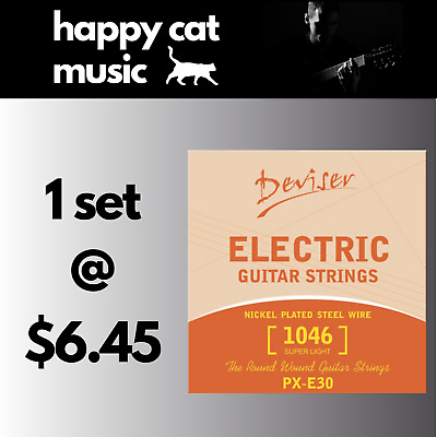 Set Of Electric Guitar Strings (10-46) *** FREE POSTAGE ***