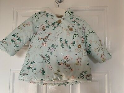 Next Girls 0 To 3 Months Floral Coat 0 - 3