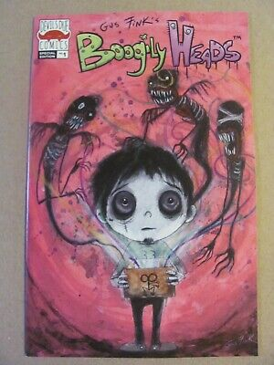 Boogily Heads #1 Devils Due Comics 2019 Series Gus Fink Variant 9.2 Near MInt-
