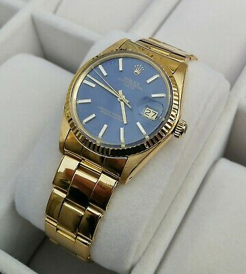aefa08e4e4f ROLEX DATEJUST 31MM (mid Size) Diamond Dial 18k Yellow Gold - Ref ...
