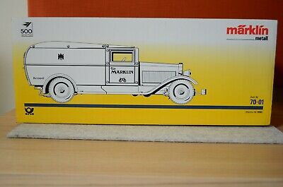 MÄRKLIN METALL Post Paketauto 70-01  1990 - Neu in OVP  MINT limitiert