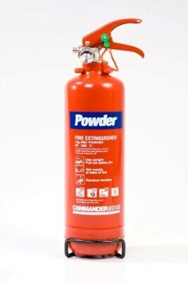 1 x 1kg DRY POWDER Fire Extinguishers Small Car/Caravan/Taxi/Office/Factory