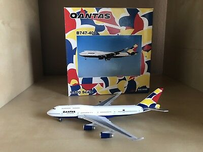 Qantas Boeing 747-400 1:500 Scale Model By Big Bird