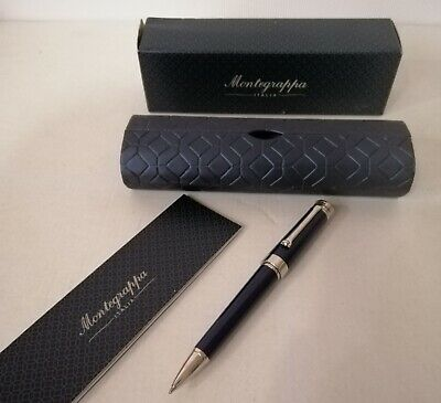 Montegrappa Parola Ballpoint Black Resin - New In Box