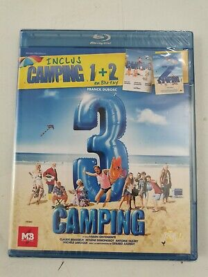 Camping Trilogie 1 + 2 + 3 Bluray Neuf Sous Blister