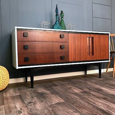 Mid Century Sideboard, credenza, drinks/cocktail cabinet media unit