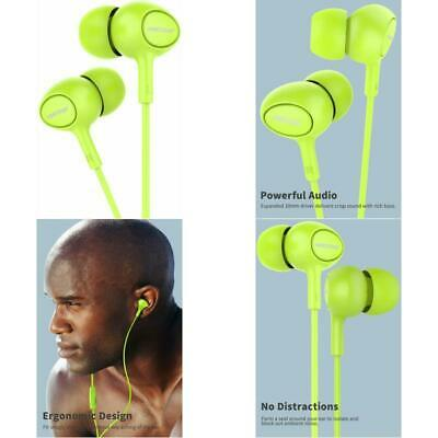 Earbuds With Microphone, Miatone In-Ear Headphones, Wired Ergonomic Earphones Ea