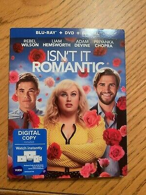 Isn't It Romantic Blu-Ray only with Slip Cover and Case