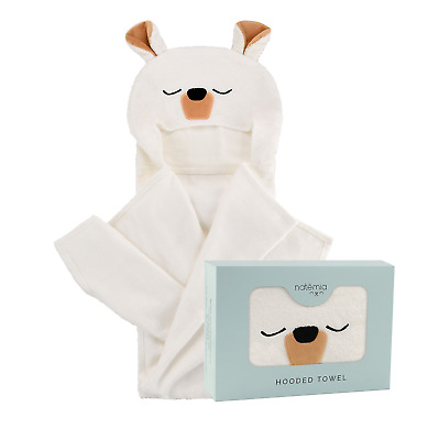 Ultra Soft Baby Hooded Towel | Extra Large and Super Absorbent Hooded Bath Towel