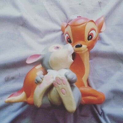 Disney Bambi And Thumper Resin Garden