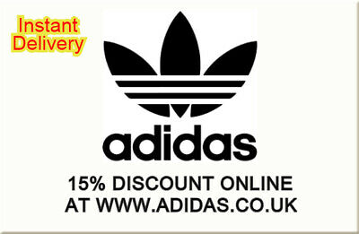 15% DISCOUNT ADIDAS VOUCHER CODE PROMO OFF GIFT DEAL Sports Online Store UK