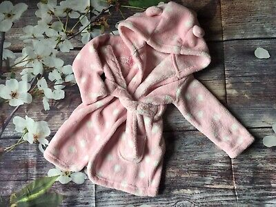 Baby Girls Bathrobe / Dressing Gown from George 6-12 months