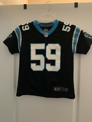 566ded7bb6c Nike NFL Carolina Panthers Luke Kuechly Limited Jersey- Black - Kids Small