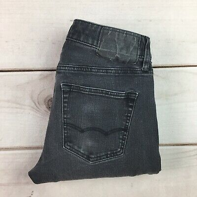 American Eagle Outfitters 28 Straight Slim Skinny 360 Extreme Flex Black Jeans