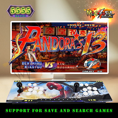 3160 Games Pandora's Box 9S Retro Video Game Arcade Console HDMI Double Sticks