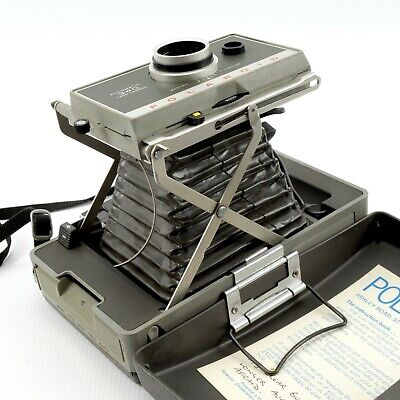 POLAROID 340 AUTOMATIC LAND CAMERA | Instant Photography | + Accessories