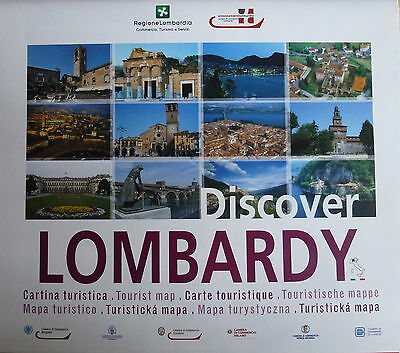 LOMBARDY Tourist map - Free UK Postage