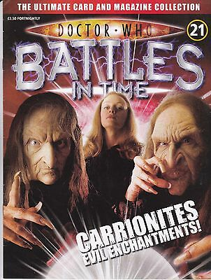 Doctor Who Battles In Time Magazine No 21 Carrionites Evil Enchantments !