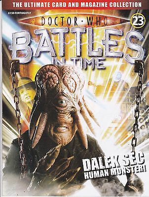 Doctor Who Battles In Time Magazine No 23 Dalek Sec Human Monster !