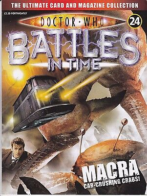 Doctor Who Battles In Time Magazine No 24 Macra Car-Crushing Crabs