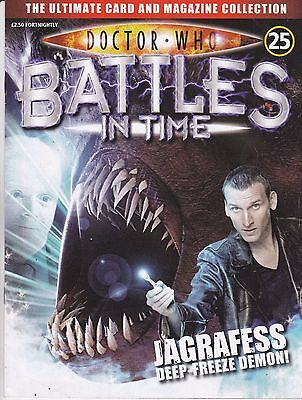 Doctor Who Battles In Time Magazine No 25 Jagrafess Deep-Freeze Demon