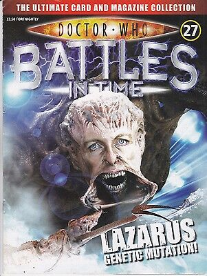 Doctor Who Battles In Time Magazine No 27 Lazarus Genetic Mutation !