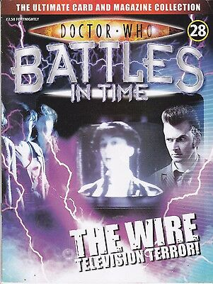 Doctor Who Battles In Time Magazine No 28 The Wire Television Terror !