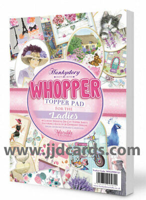 Hunkydory - Whopper Topper Pad - For the Ladies - WHOPPER101
