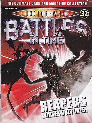 Doctor Who Battles In Time Magazine No 32 Reapers Vortex Vultures !