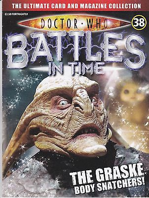 Doctor Who Battles In Time Magazine No 38 The Graske Body Snatchers !