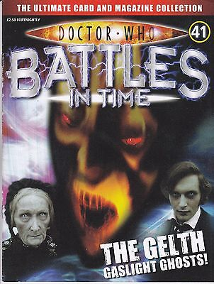 Doctor Who Battles In Time Magazine No 41 The Gelth Gaslight Ghosts