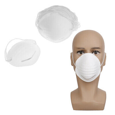 50pcs Disposable face mask mouth anti-dust filter medical safety respira FR