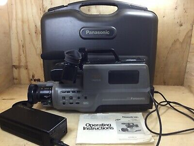 Panasonic AG-190 VHS Camcorder, Tested & Working