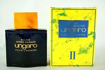 Ungaro II after shave balm pour l' homme 75 ml boxed