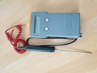 COMARK 9007 Single Input Thermocouple / Thermometer With Probe