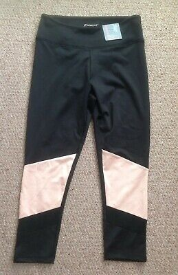 cd84f774a5a6bd PURE SIMPLE GYM Leggings Pants Black / Pink Mix Size 12 Bnwt R26 ...