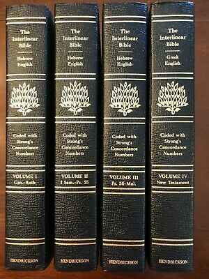 THE INTERLINEAR BIBLE Hebrew-Greek-English 1 Volume Edition