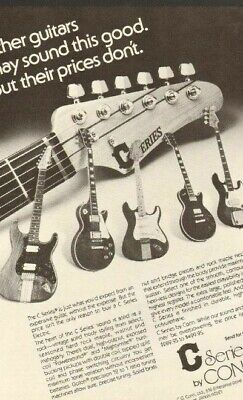 1979 C Series by Conn Electric Guitars - Vintage Ad