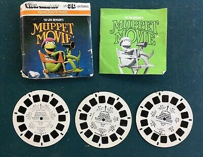 Vintage 1979 View Master Showtime Jim Henson's Muppet Movie K27 3 Reel Set