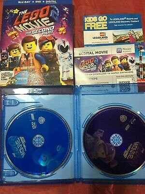 the lego movie 2 the second part- Blu-ray + DVD + Digital