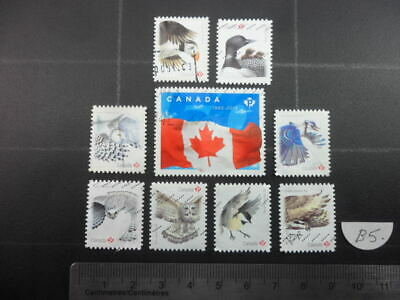 BIRDS StampsLot (Including Puffin and Loon)from Canada B5