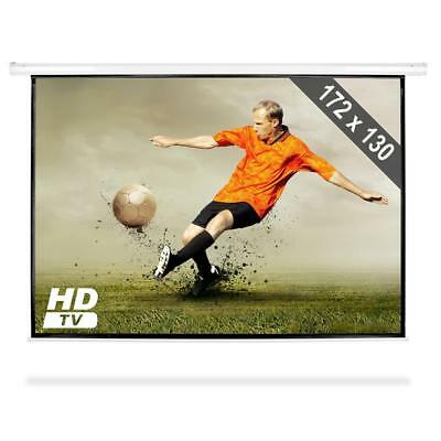 """Projectror Screen Home Cinema 172 x 130 cm LCD DLP Roll Up HDTV 86 """""""