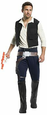 CL315 Deluxe Han Solo Star Wars Adult Mens Fancy Dress Up Party Costume Outfit