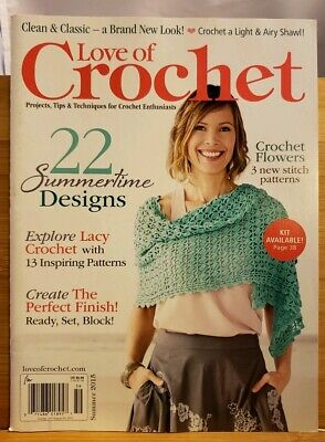 Love Of Crochet Magazine Winter 2015 Projects Tips Techniques
