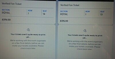 2 Tickets Madonna Madame X Tour London Palladium
