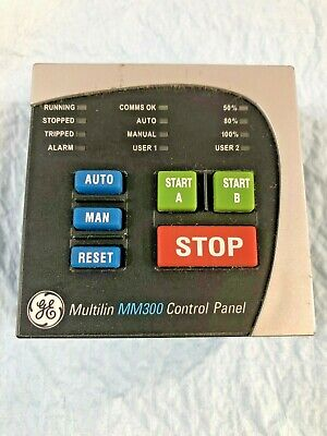 GE Multilin MM300 Control Panel. BCP ( Basic Control Panel) RS485. Used surplus