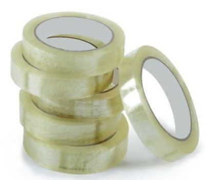 4x Clear Selotape 24mm x 50m Packing Tape Cheapest Pack of 4